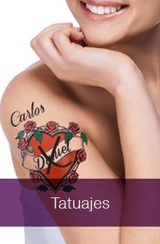 Quitar Tatuajes, borrar